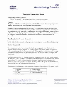 Accuracy and Precision Worksheet Answers Best Of Accuracy and Precision Lesson Plans & Worksheets Reviewed