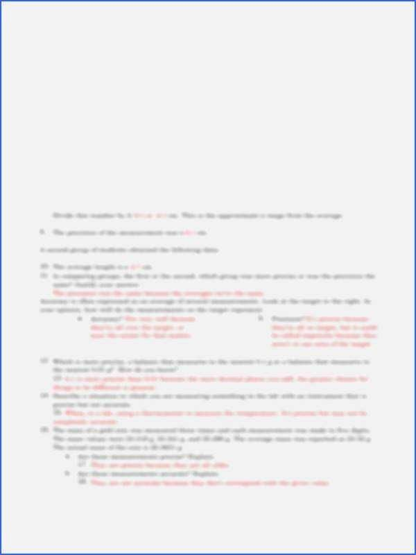 Accuracy and Precision Worksheet Answers Inspirational Accuracy and Precision Chemistry Worksheet Answers