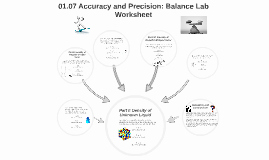 Accuracy and Precision Worksheet Unique 01 07 Accuracy and Precision Balance Lab Worksheet by Fa