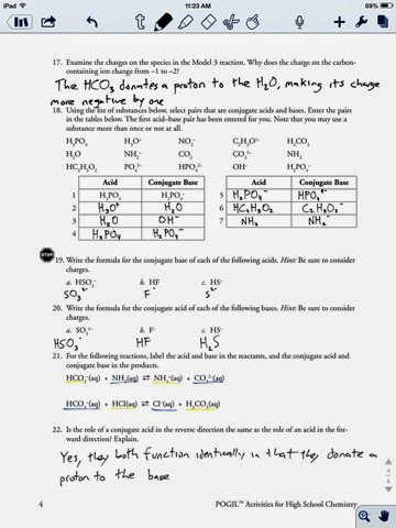 Acid and Base Worksheet Answers Inspirational Joey Reitz Chemistry
