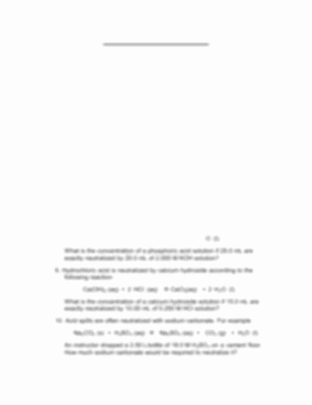 Acid Base Reaction Worksheet Best Of Acid Base Worksheet
