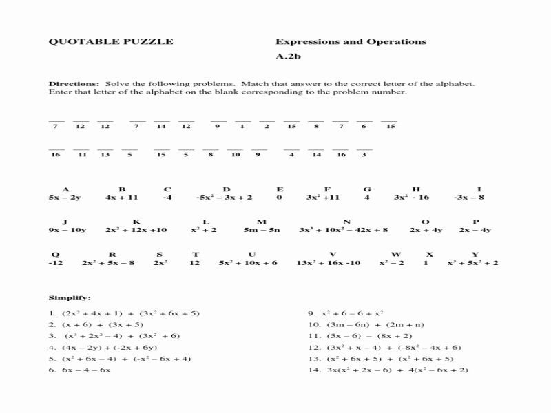 Adding and Subtracting Polynomials Worksheet Best Of Add and Subtract Polynomials Worksheet Free Printable