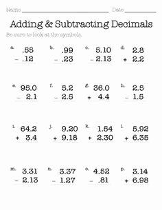 Adding Decimals Worksheet Pdf Beautiful 11 Best Of Cryptic Quiz Math Worksheet Answers E 9