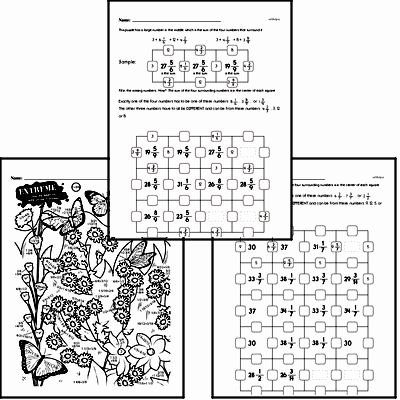Adding Fractions Worksheet Pdf Awesome Free Fifth Grade Fractions Pdf Worksheets