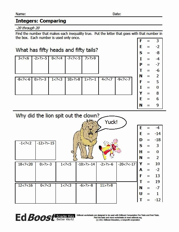 Adding Integers Worksheet Pdf New Integers