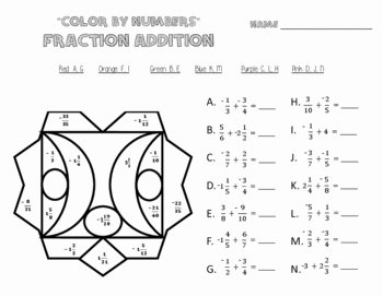 Adding Rational Numbers Worksheet Best Of Adding Rational Number Worksheets Color by Numbers
