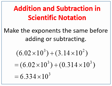 Adding Subtracting Scientific Notation Worksheet Elegant Add and Subtract Numbers In Scientific Notation Examples