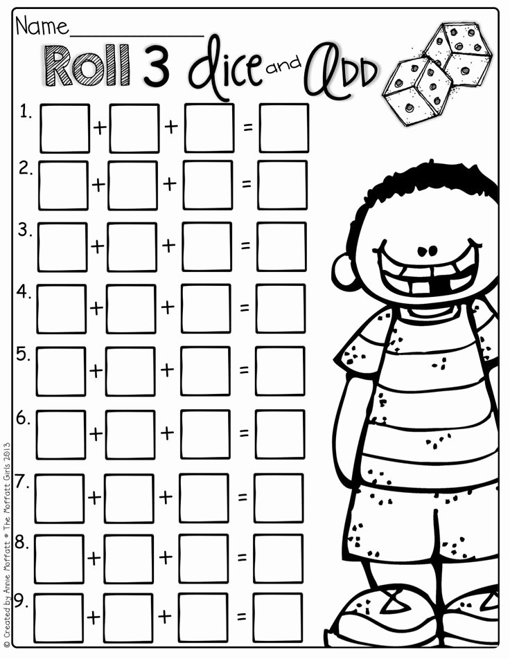 Adding Three Numbers Worksheet Beautiful 15 Best Of Addition 3 Addends Worksheet First Grade
