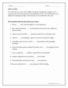 Affect Vs Effect Worksheet Best Of Affect Vs Effect Worksheet Ela Pinterest