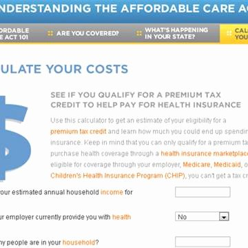 Affordable Care Act Worksheet Beautiful How Affordable is New Health Care Law Really Calculate
