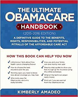 Affordable Care Act Worksheet Lovely the Ultimate Obamacare Handbook 2015 2016 Edition A