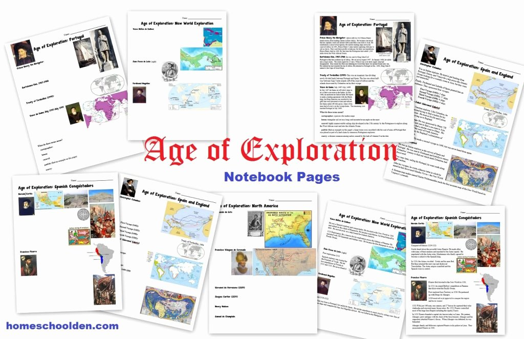Age Of Exploration Worksheet Elegant Age Of Exploration Packet Free until April 5th