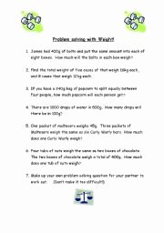 Age Word Problems Worksheet Elegant English Worksheets Maths Weight Word Problems