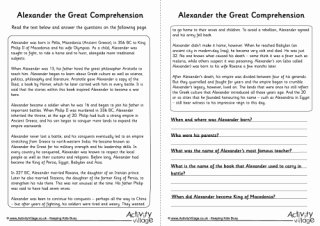 Alexander the Great Worksheet Best Of Alexander the Great