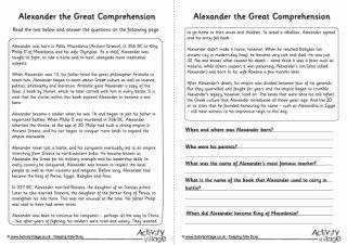Alexander the Great Worksheet Best Of Alexander the Great
