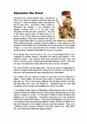Alexander the Great Worksheet Elegant English Worksheet Alexander the Great