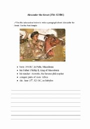 Alexander the Great Worksheet Fresh English Worksheets Alexander the Great