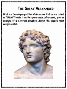 Alexander the Great Worksheet Inspirational Alexander the Great Facts & Worksheets