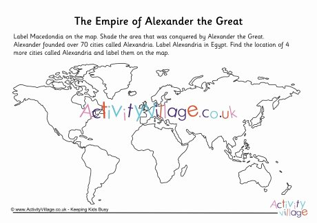 Alexander the Great Worksheet Lovely the Empire Of Alexander the Great Worksheet
