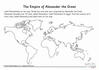 Alexander the Great Worksheet Luxury Alexander the Great
