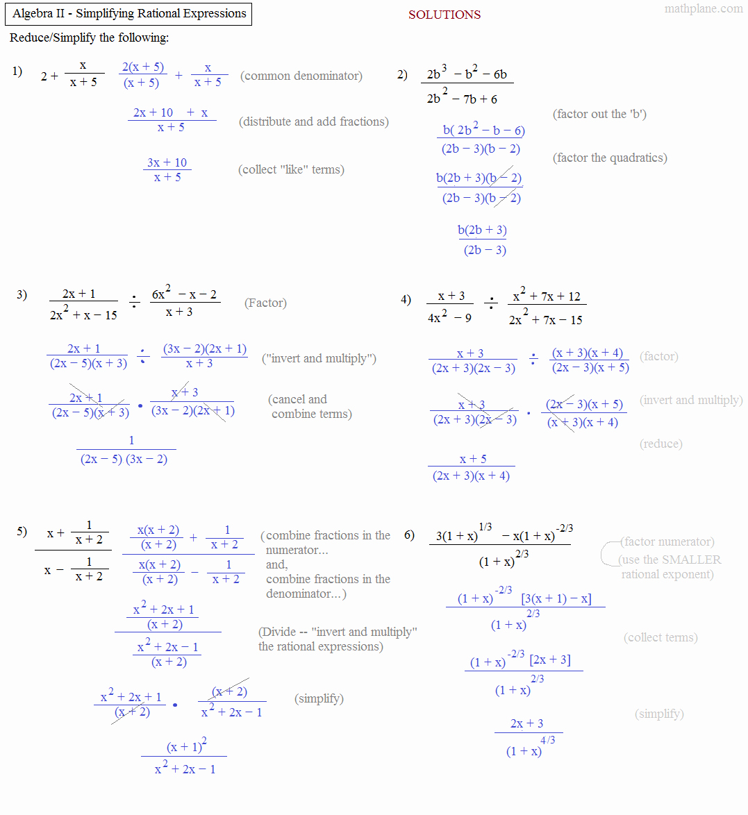 Algebra 1 Factoring Worksheet Awesome Math Plane Algebra Ii Review 1