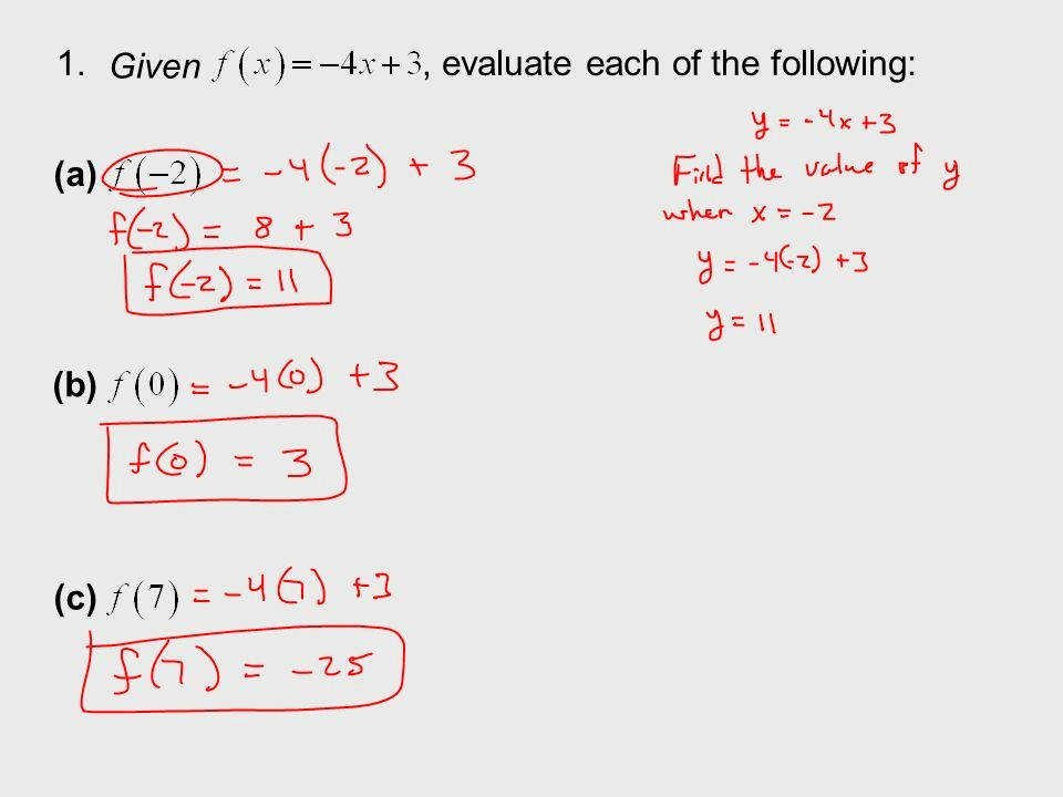 Algebra 1 Function Notation Worksheet Lovely Evaluating Functions Worksheet