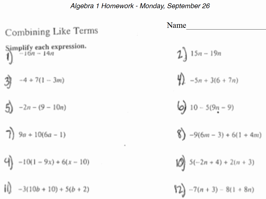 Algebra 1 Functions Worksheet Fresh 14 Best Of Hardest College Algebra Worksheets
