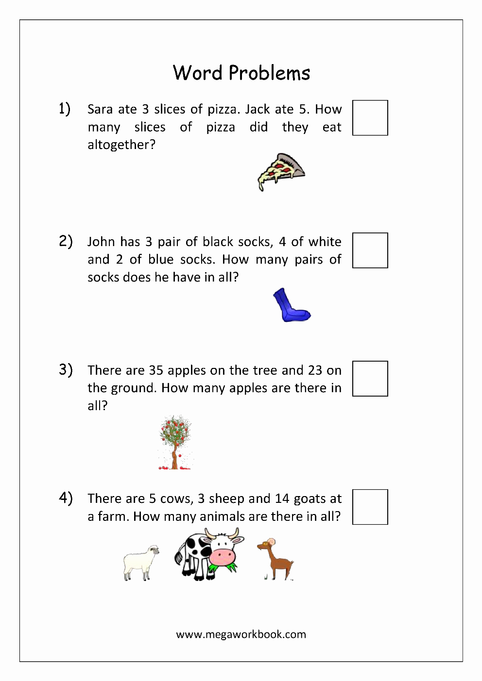 Algebra 1 Word Problems Worksheet Inspirational Addition and Subtraction Word Problems Worksheets for