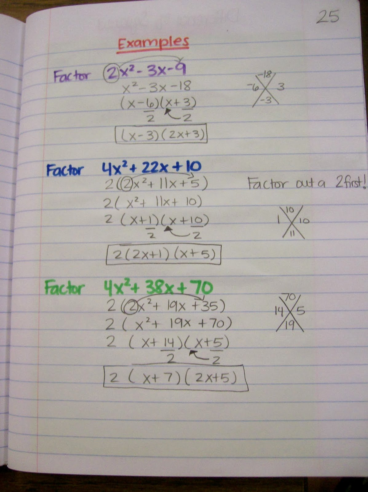Algebra 2 Factoring Worksheet Beautiful Math = Love Algebra 1 Inb Pages Polynomials and Factoring