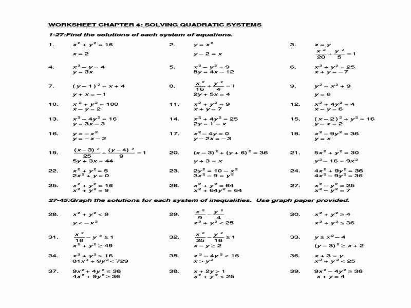 Algebra 2 Factoring Worksheet New solving Quadratic Equations by Factoring Worksheet Answers