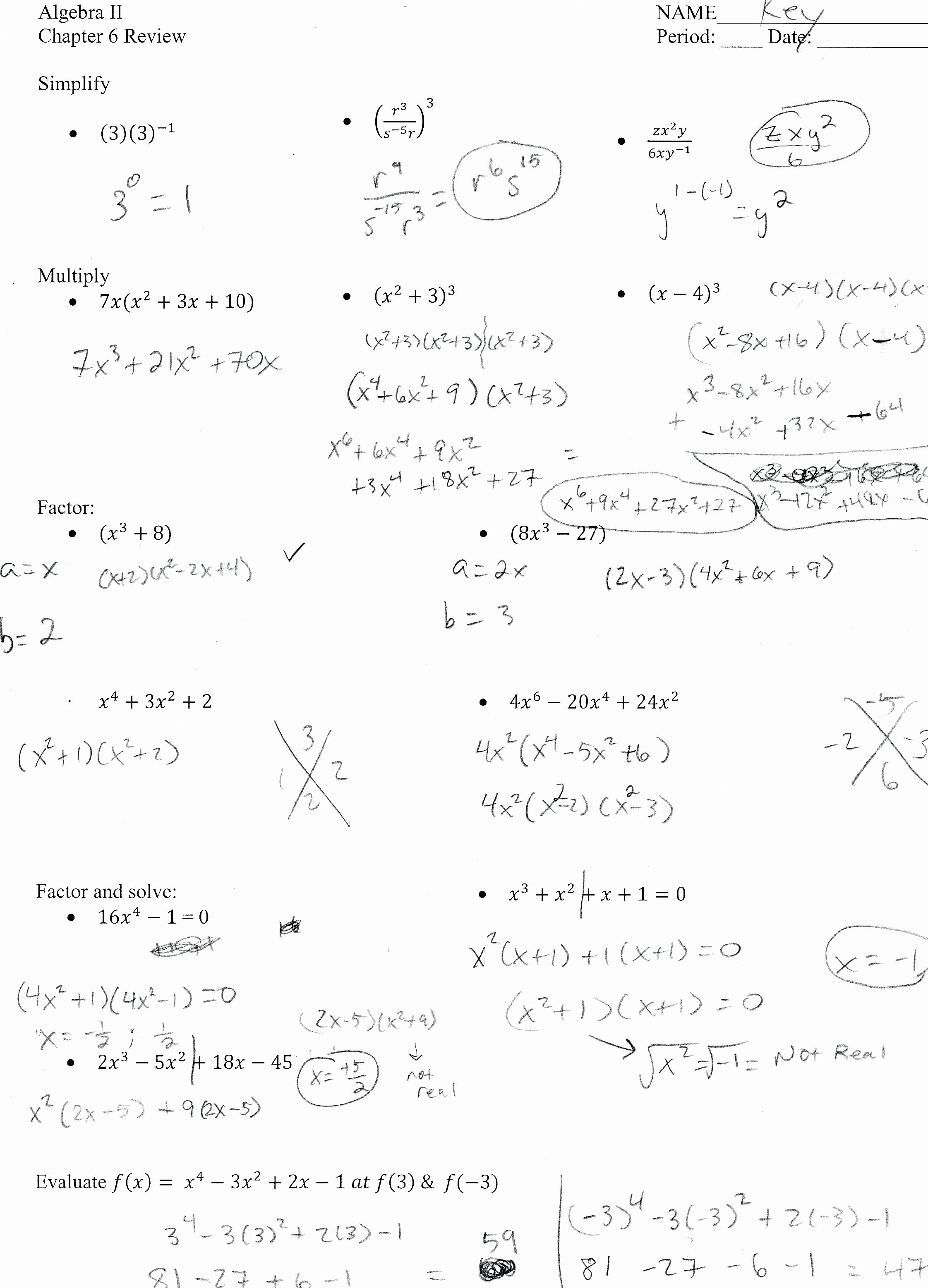 Algebra 2 Review Worksheet Fresh Worksheets Algebra 2 Review Worksheet Cheatslist Free