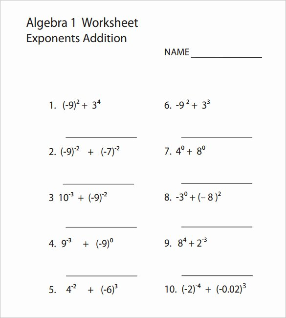 Algebra 2 Worksheet Pdf Fresh 8 College Algebra Worksheet Templates Doc Pdf
