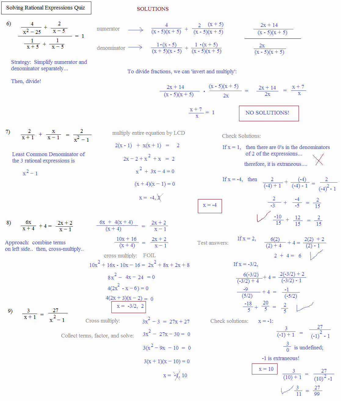 Algebra 2 Worksheet Pdf New Math Plane solving Rational Equations