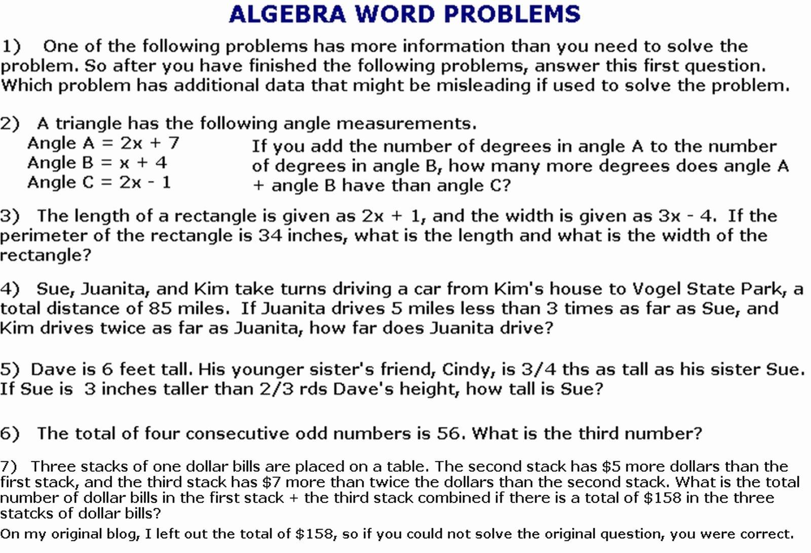 Algebra Word Problems Worksheet Pdf Unique Quadratic Equations Word Problems Worksheet Pdf