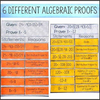 Algebraic Proofs Worksheet with Answers Awesome Algebraic Proofs Worksheet