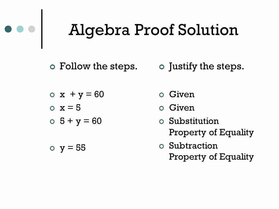 Algebraic Proofs Worksheet with Answers Luxury Algebraic Proofs Worksheet