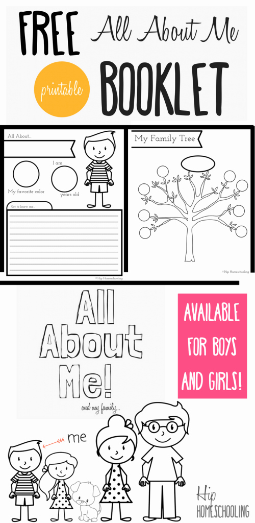 All About Me Printable Worksheet Beautiful All About Me Worksheet A Printable Book for Elementary Kids