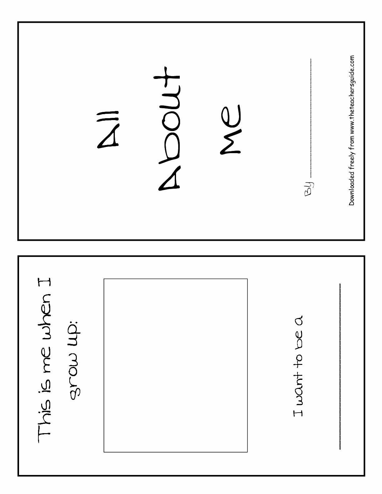 All About Me Printable Worksheet Fresh Back to School Printouts From the Teacher S Guide