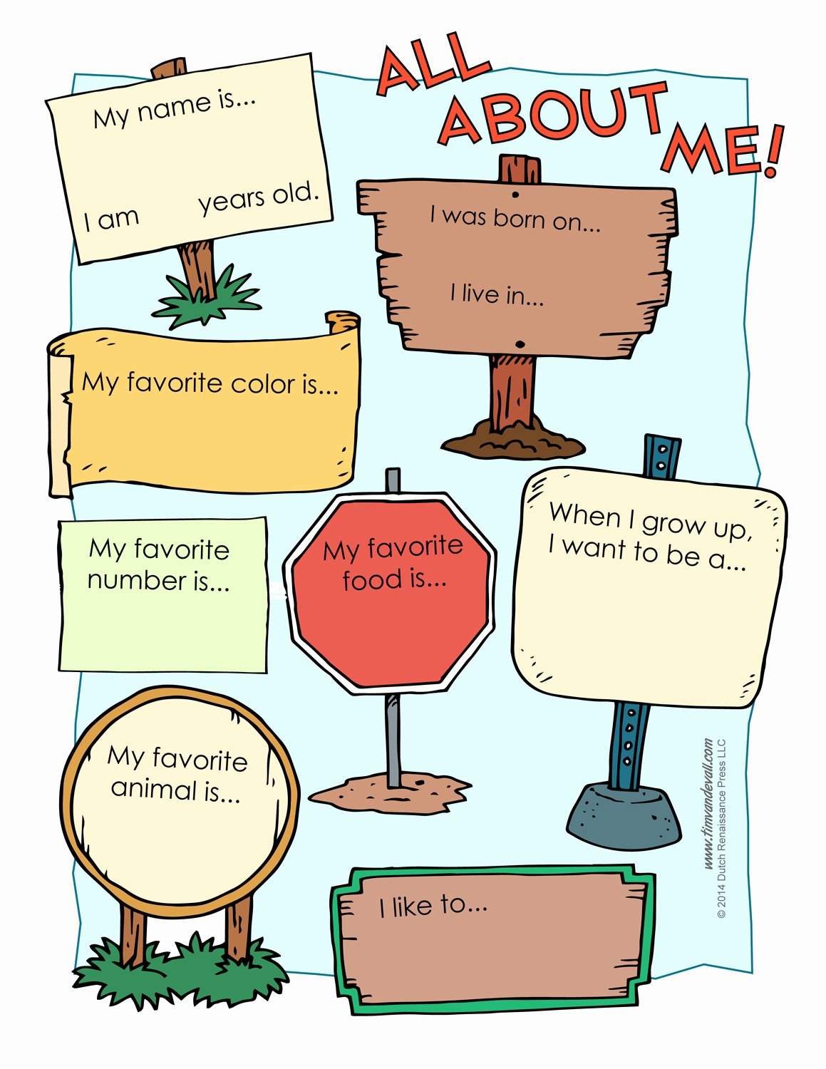 All About Me Printable Worksheet Luxury All About Me Worksheetstake the Pen