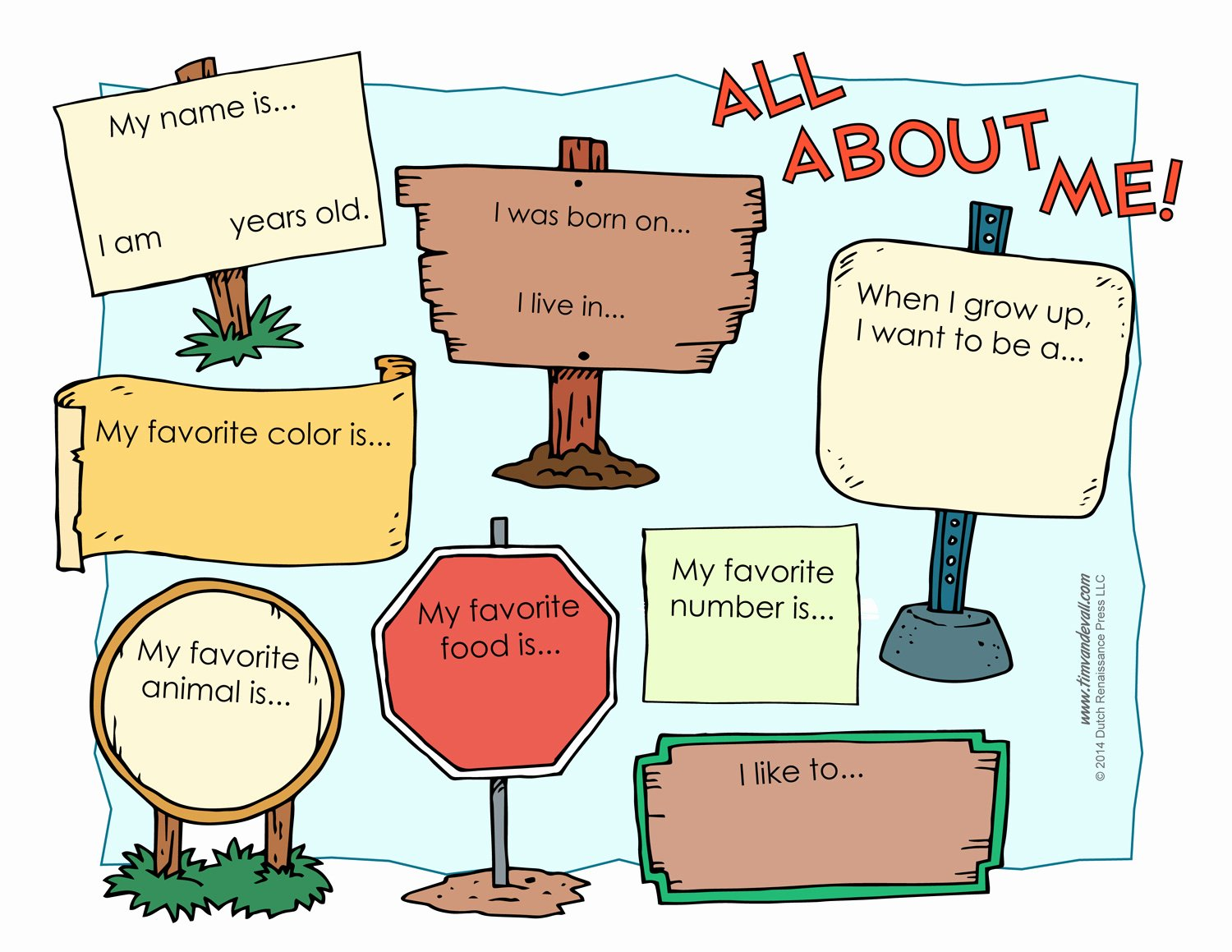 All About Me Printable Worksheet Unique All About Me Worksheet Printable