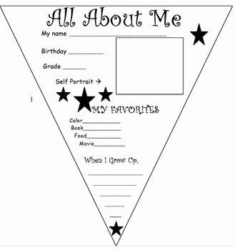 All About Me Worksheet Awesome All About Me Worksheet by the Counselor