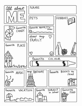 All About Me Worksheet Inspirational Doodle Notes All About Me Freebie by Science & Math
