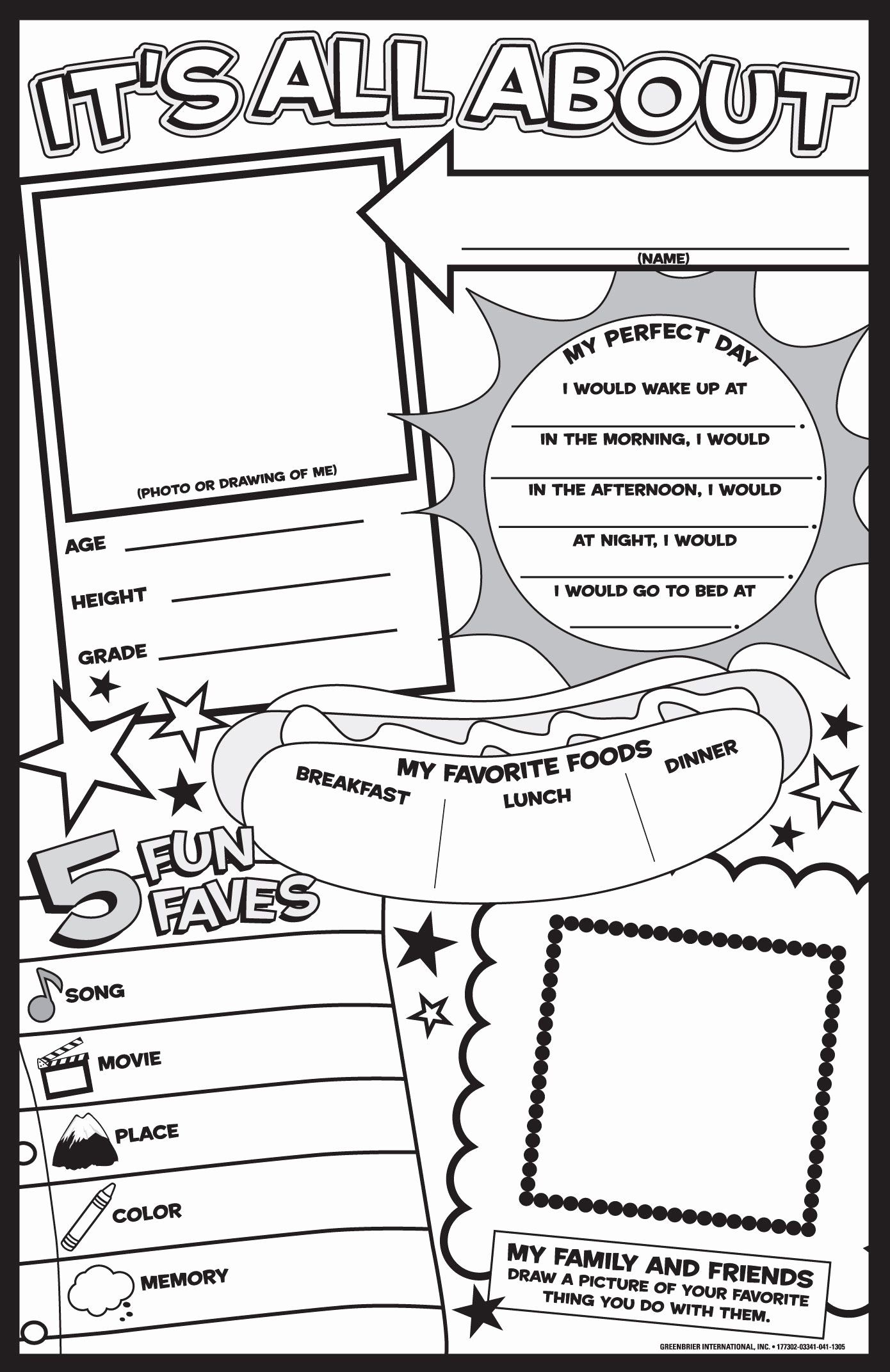 All About Me Worksheet Inspirational Get to Know Me Ideas Allaboutmeposter