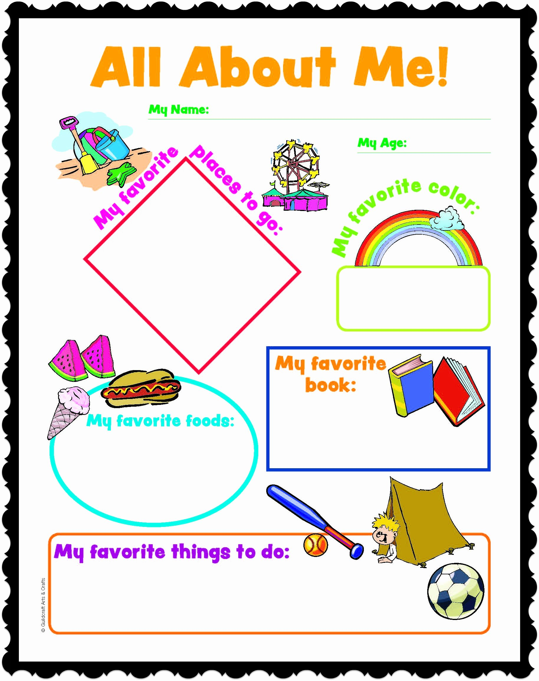 All About Me Worksheet Lovely All About Me Worksheetstake the Pen