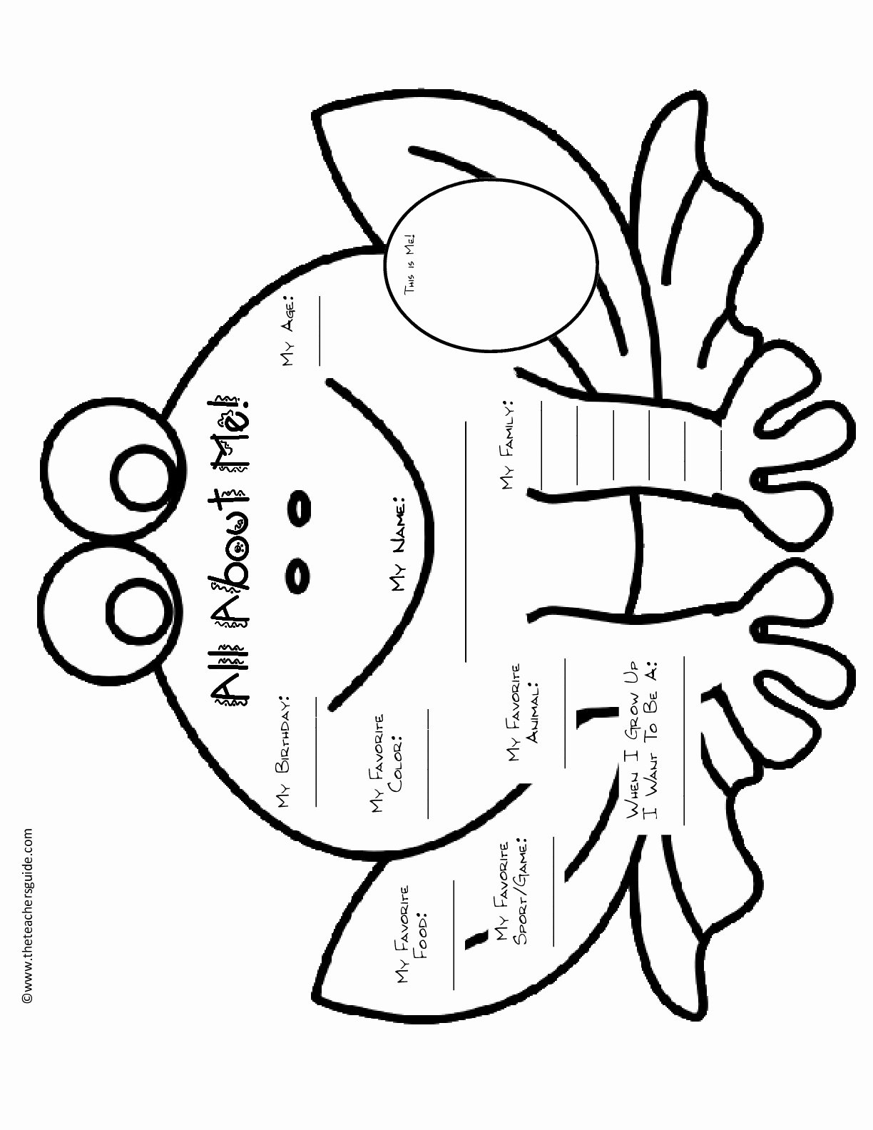 All About Me Worksheet Pdf Awesome All About Me Worksheetstake the Pen