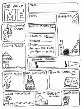 All About Me Worksheet Pdf New All About Me Freebie by Science & Math Doodles