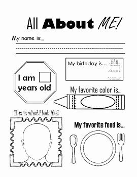 All About Me Worksheet Preschool Lovely Free All About Me Ice Breaker Worksheet