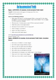 An Inconvenient Truth Worksheet Awesome An Inconvenient Truth Esl Worksheet by Ayshr