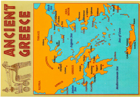 Ancient Greece Map Worksheet New Ancient Greece Greeks History Key Stage 2 athens