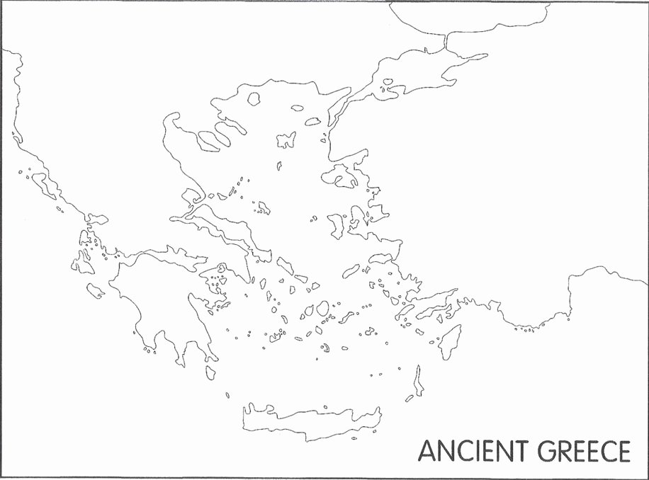 Ancient Greece Map Worksheet Unique Huma 1105 Ancient Greek Map Quiz by Huma 1105